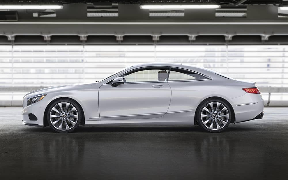 2020 MB S-Class Coupe Side View