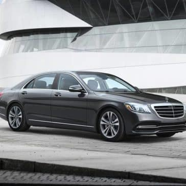 2020 MB S-Class Parked