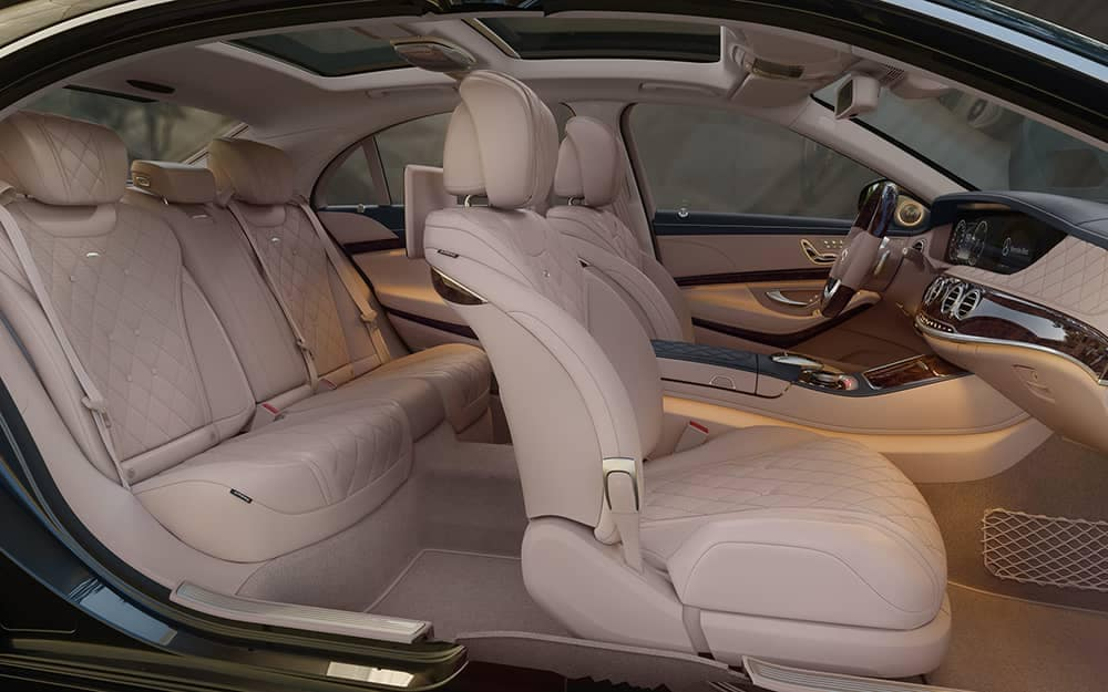 2020 MB S-Class Seating