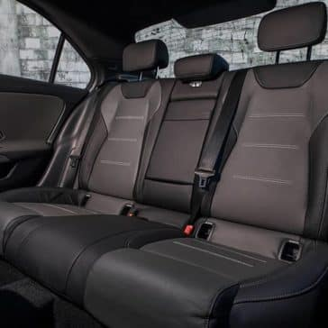 2020-MB-A-Class Back Seat