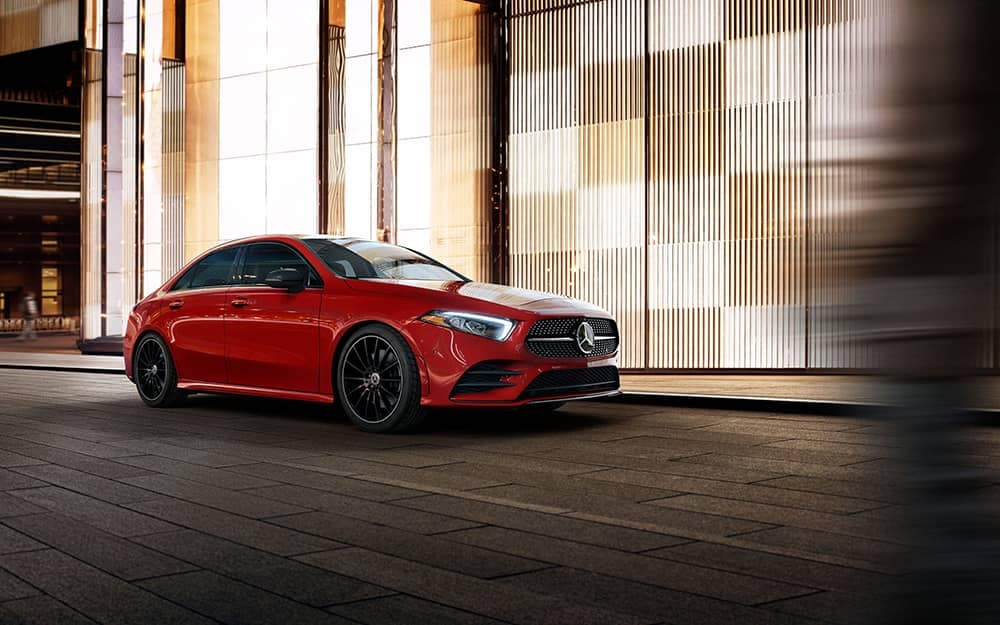 2020-MB-A-Class Parked