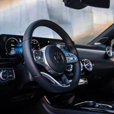 2020-MB-A-Class Steering Wheel
