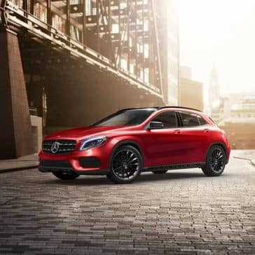 2020 MB GLA In The City