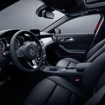 2020 MB GLA Interior
