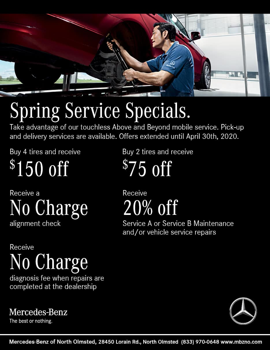 Mercedes-Benz Service Specials | Auto Parts Coupons ...