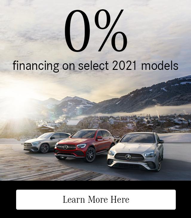 0% Financing on 2021 Models