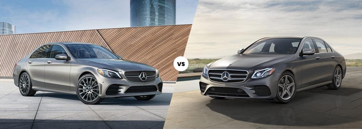 2020 Mercedes-Benz C-Class vs. E-Class