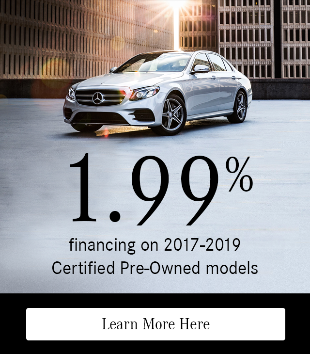 1.99% Financing Certified Pre-Owned Models