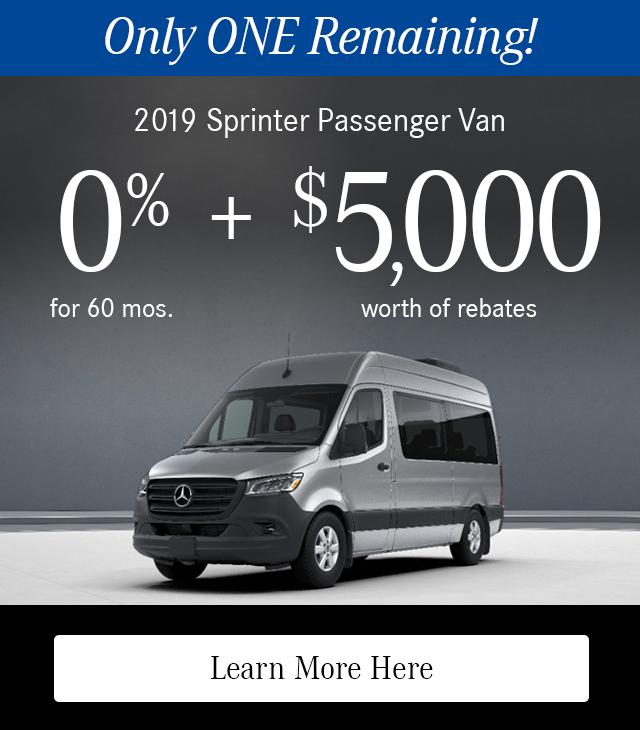 2019 Metris Passenger Van