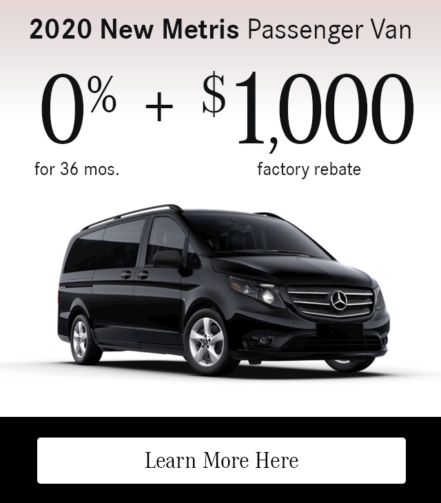 2020 Metris Passenger Van