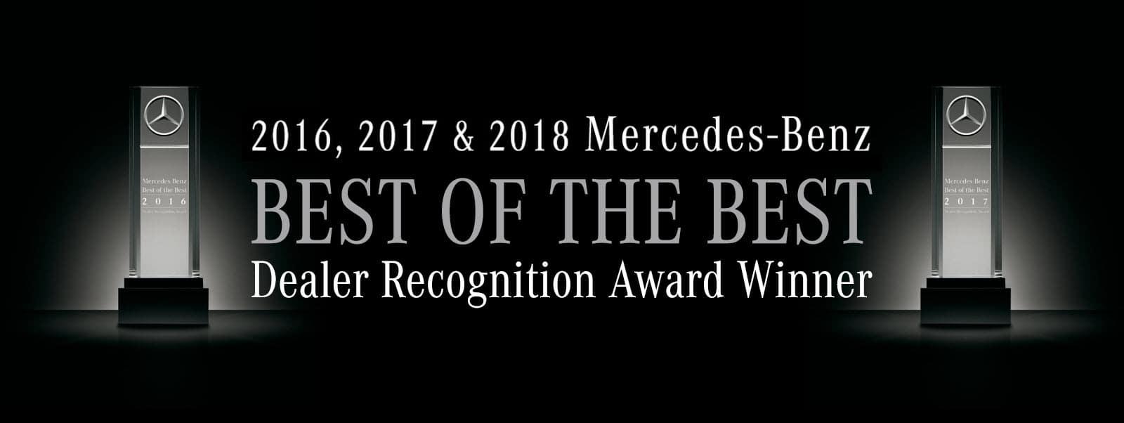 Mercedes-Benz Best of the Best Award