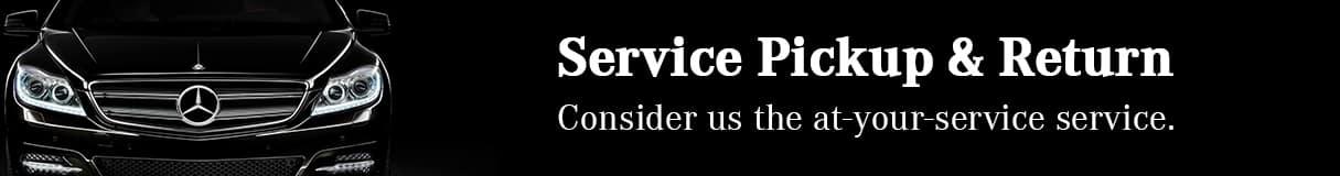 Service Pickup & Return