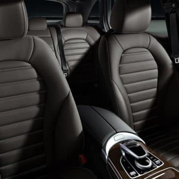 2018 Mercedes-Benz GLC 300 seating