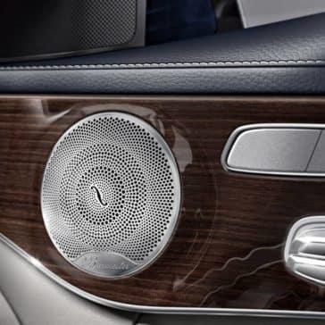 2018 Mercedes-Benz C-Class Burmester Audio