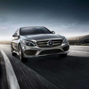 2018 Mercedes-Benz C-Class front exterior