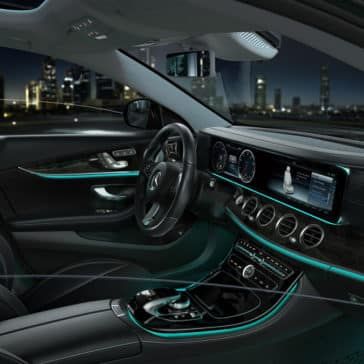 2018 Mercedes-Benz E 300 interior cabin