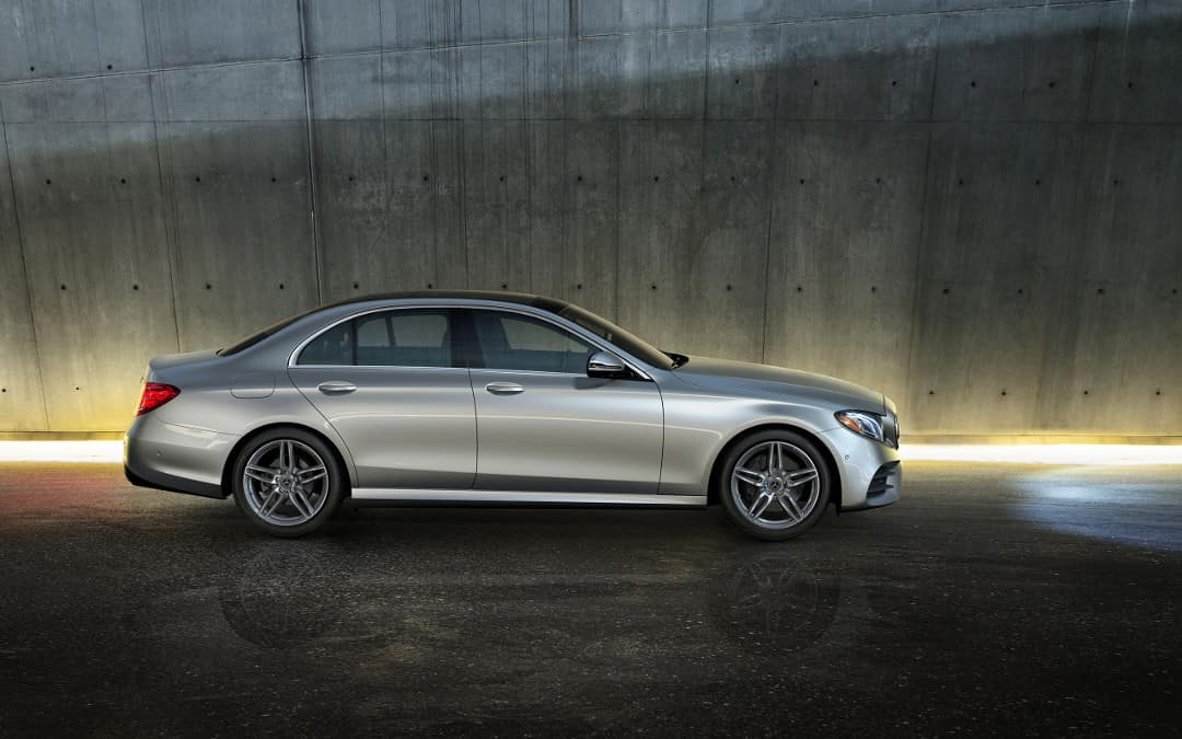 2018 Mercedes-Benz E 300 side profile