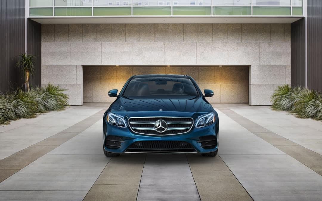 2018 Mercedes-Benz E-Class front exterior