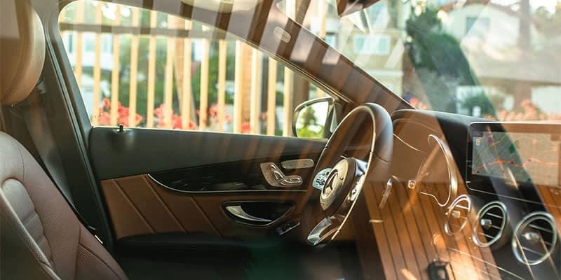2019 Mercedes-Benz C-Class Looking In