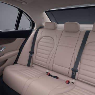 2019 Mercedes Benz C Class Sedan back interior