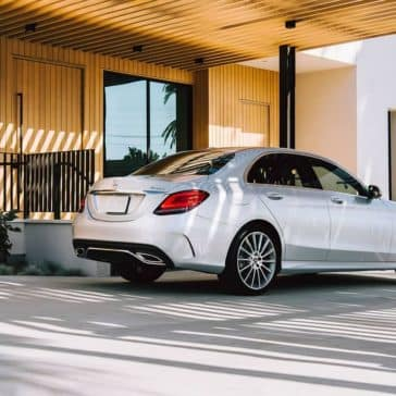 2019 Mercedes Benz C Class Sedan back side exterior