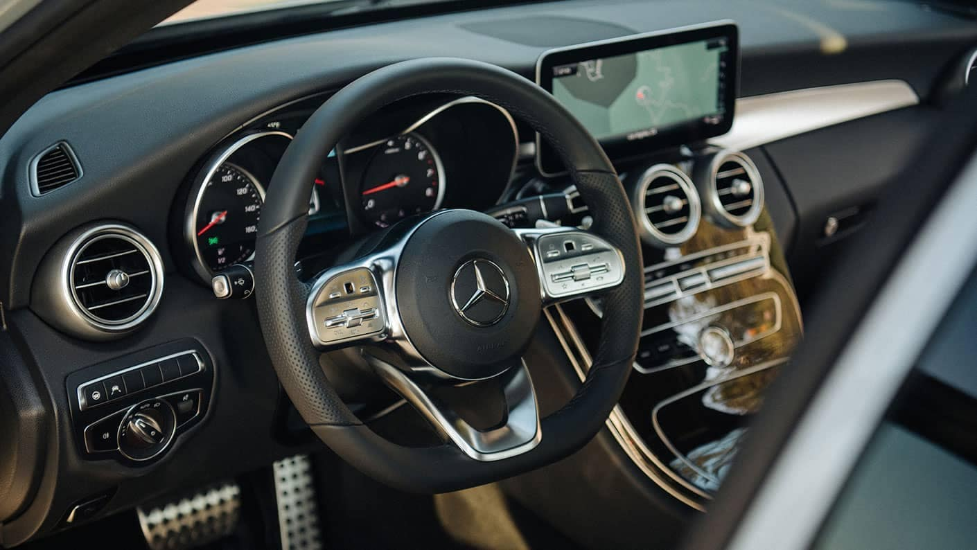 2019 Mercedes Benz C Class Sedan dashboard