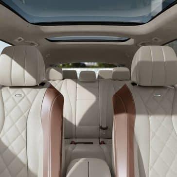 2019 Mercedes-Benz E-Class interior seating