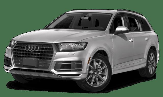 2019 Audi Q7 in Silver