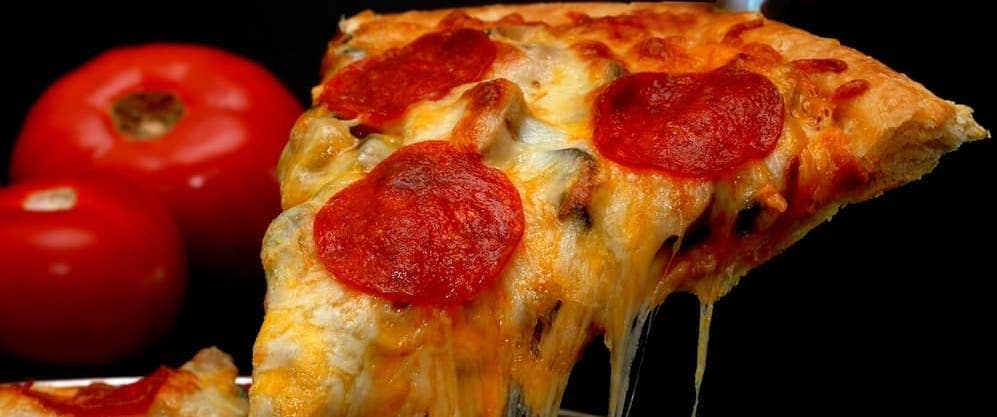 Pizza Slice with Pepperoni