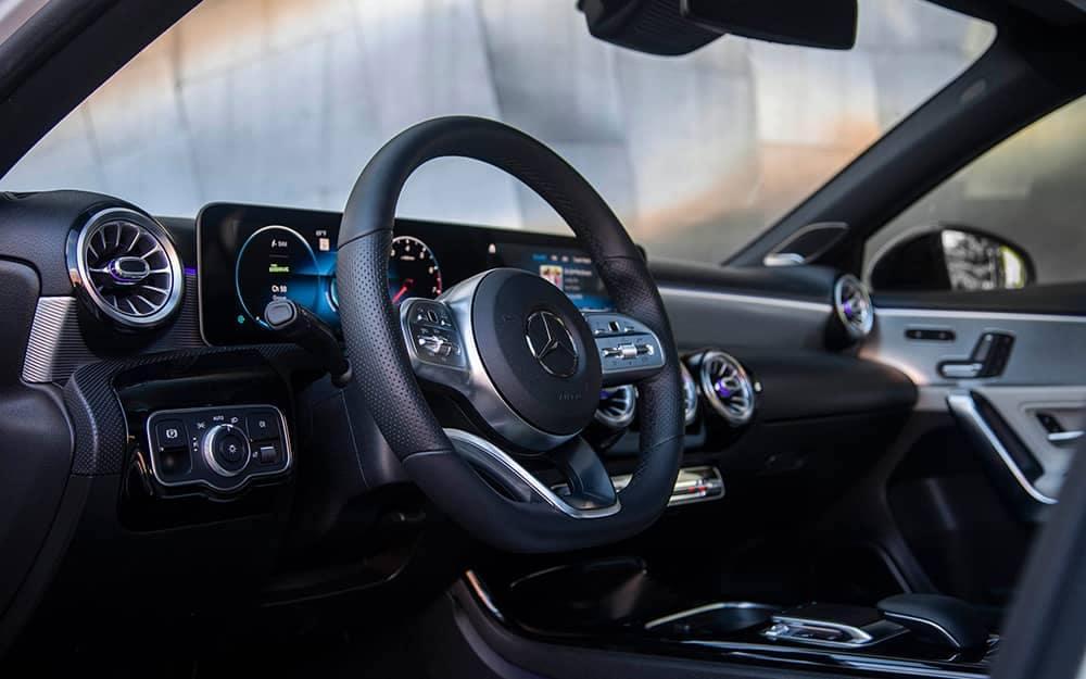 2019 MB A-Class Steering Wheel