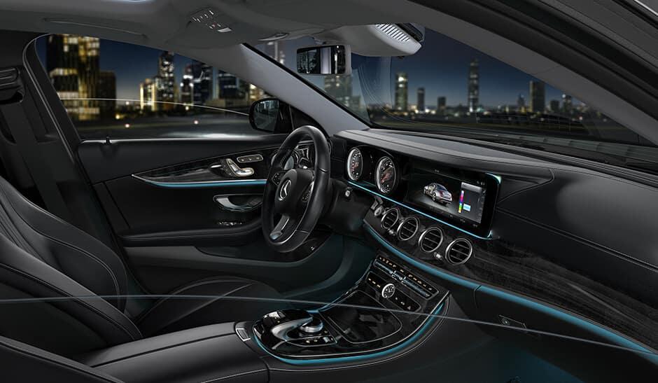 2018 E-Class interior