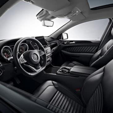 2018 Mercedes-Benz GLE steering wheel