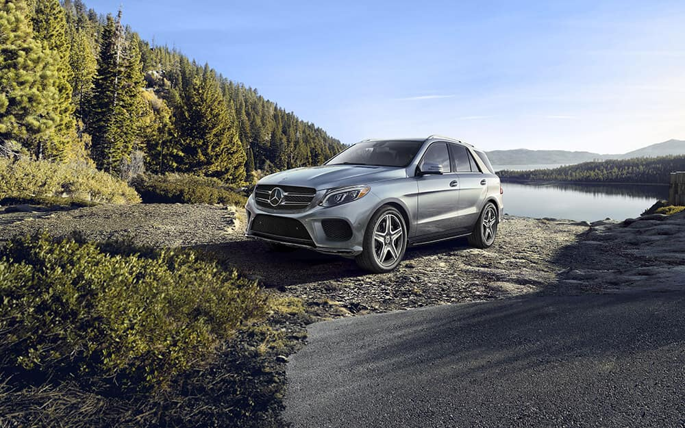 2018 Mercedes-Benz GLE in the woods