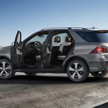2018 Mercedes-Benz GLE doors open