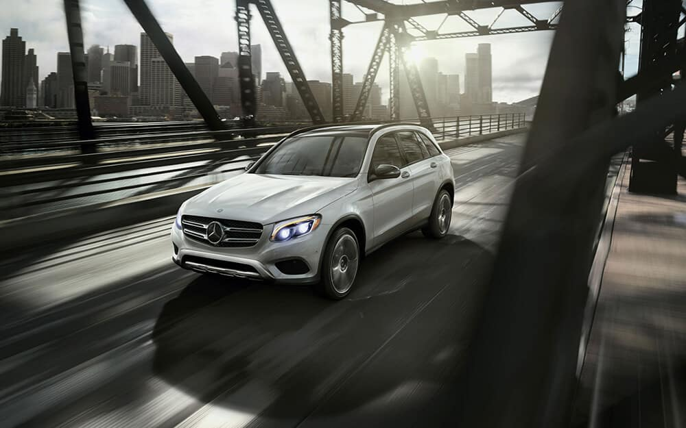 Enjoy thrilling performance in the 2018 glc suv mercedes for Mercedes benz rocklin service