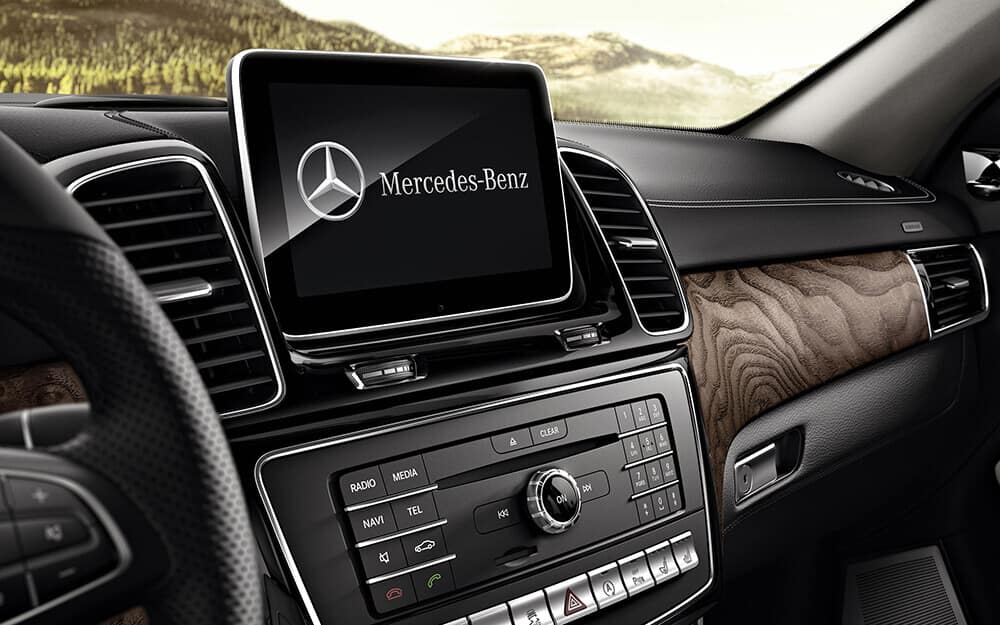 2018 MB GLE touch screen