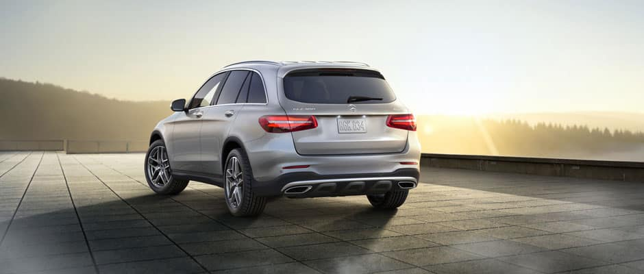 2018 GLC SUV Rear