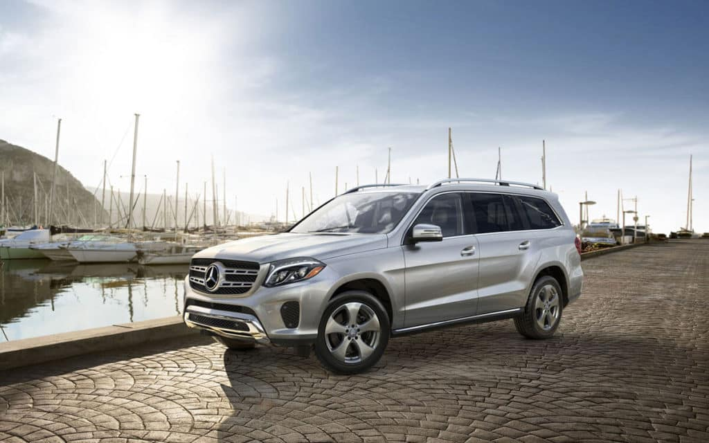 2018 Mercedes-Benz GLS in a parking lot