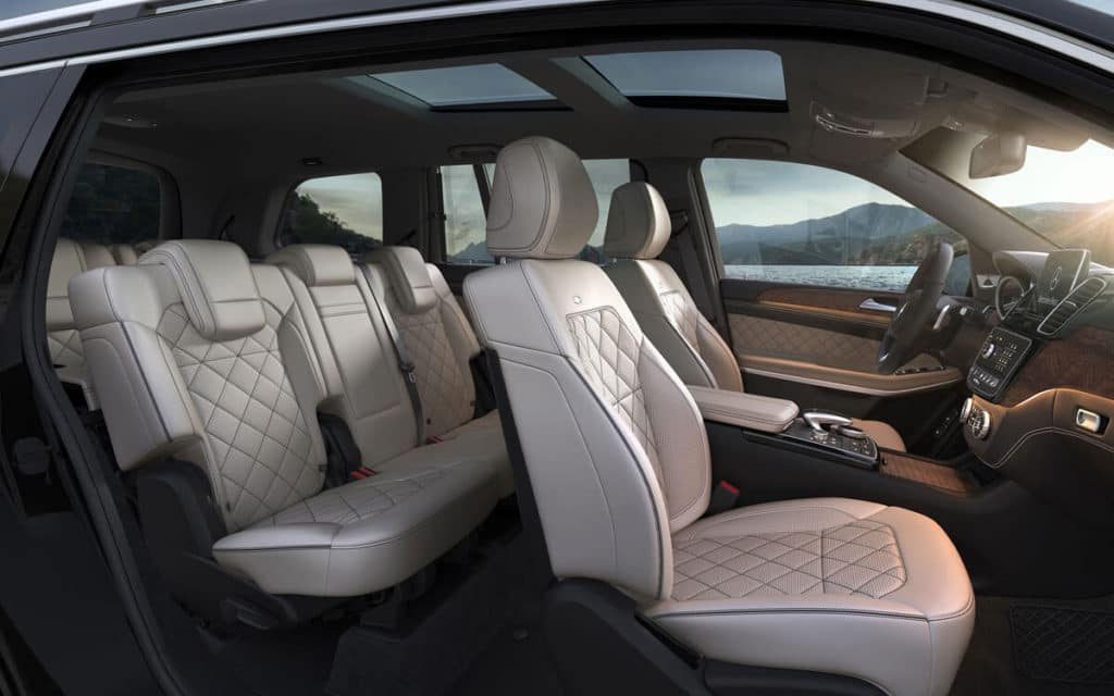 2018 Mercedes-Benz GLS cabin interior