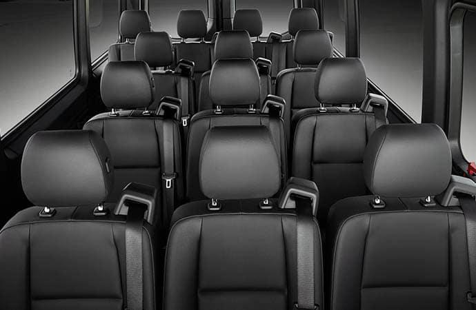passenger interior van