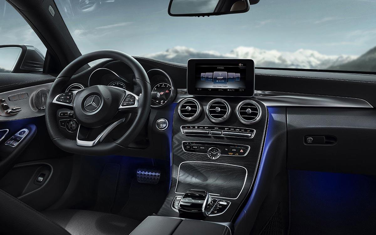Mercedes benz c300 interior accessories fiat world test for Interior parts for mercedes benz