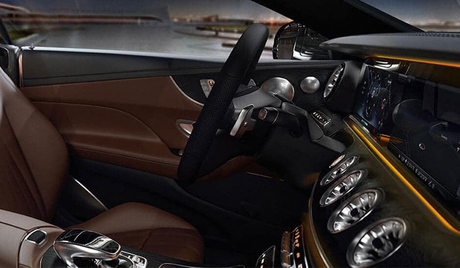 2018 Mercedes-Benz E-class dashboard