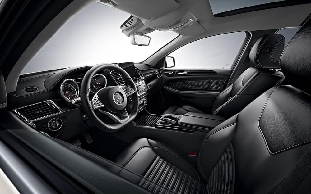 2018 Mercedes-Benz GLE seating