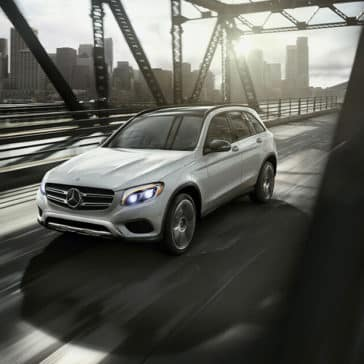 2018 Mercedes-Benz GLC on bridge