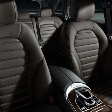 2018 Mercedes-Benz GLC seats