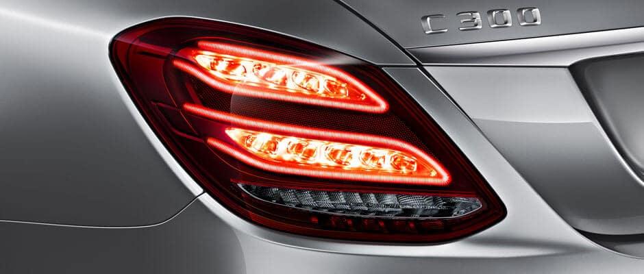 2018 Mercedes Benz C Class taillight
