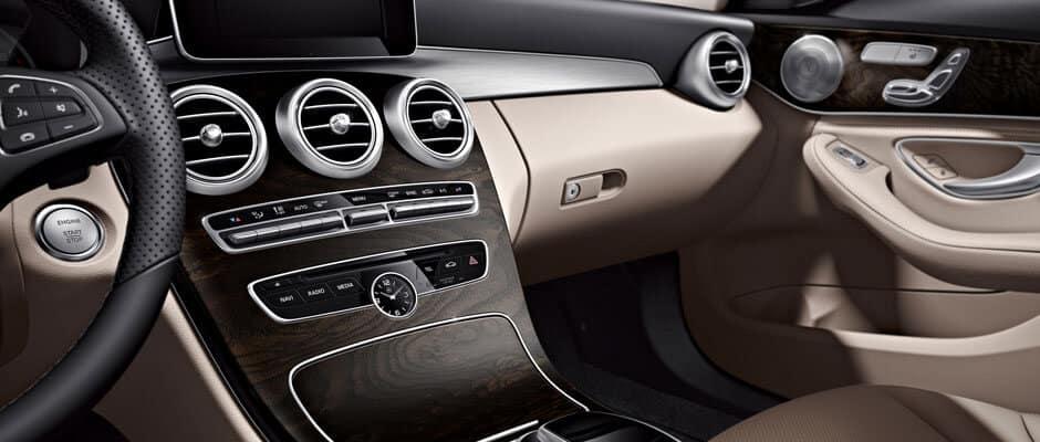 2018 Mercedes Benz C Class dashboard