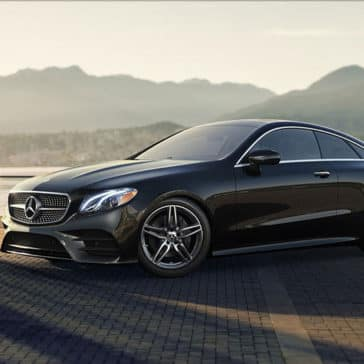 2018 Mercedes-Benz E-Class mountains