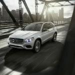 2018 Mercedes-Benz GLC on the bridge