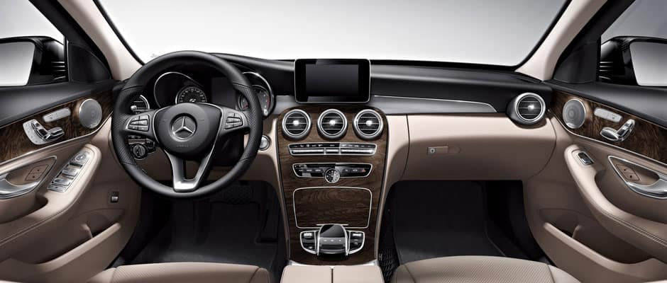 Mercedes-Benz C-Class Sedan interior